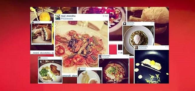 Restaurant El Comodo utilise Instagram