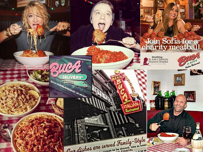 Restaurant bucca di peppo utillise instagram