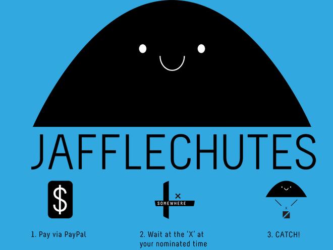 Jaffle Chute nouveau concept de restaurant