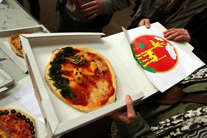 créer votre pizza par Jonas Lund