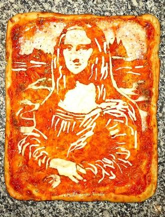 Pizza personnalisée, la Mona Pizza
