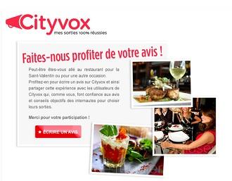 Cityvox pour les restaurants