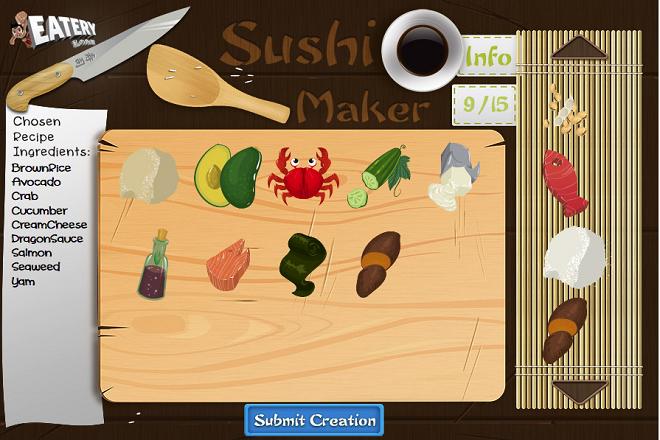 Personnaliser ses sushis au restaurant