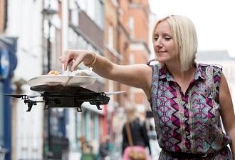 Les drones pour les restaurants