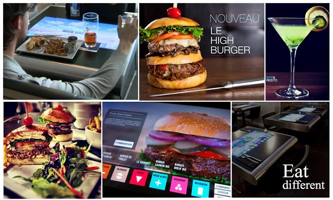 Restaurants et nouvelles technologies le iburger montr al for Equipement de restaurant montreal