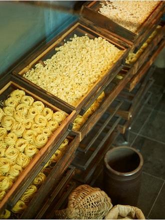 Présenter les pâtes de façon originale