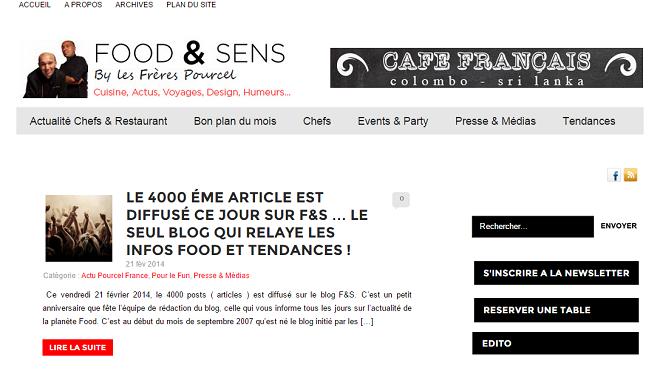 Blog des frères Pourcel