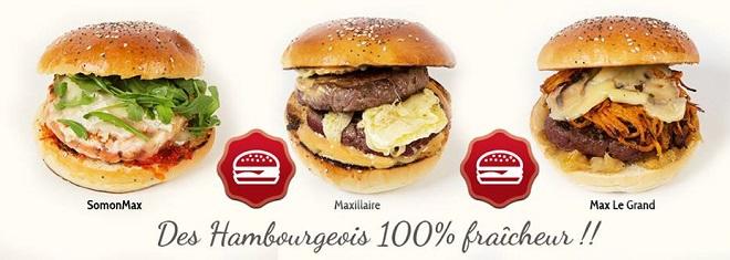 Hamburger gourmet à Bordeaux