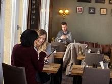 Menu interactif au restaurant