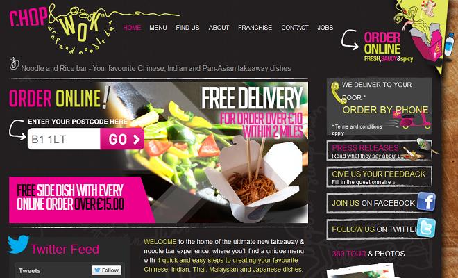 Online ordering solution for restaurants & bars