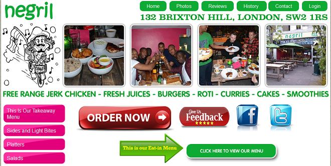 Online ordering service for restaurant