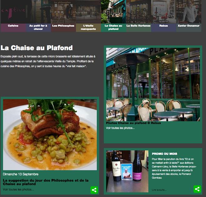 blog pour les restaurants