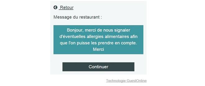 Logiciel de réservation en ligne