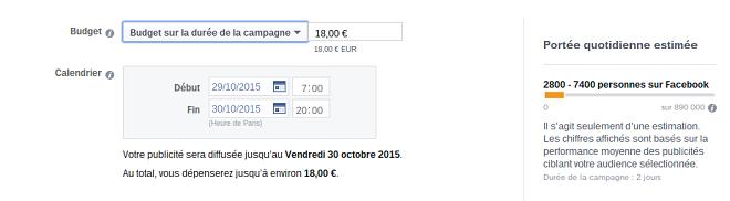Budget pub facebook