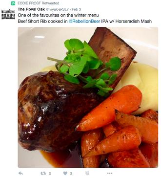Twitter for restaurants