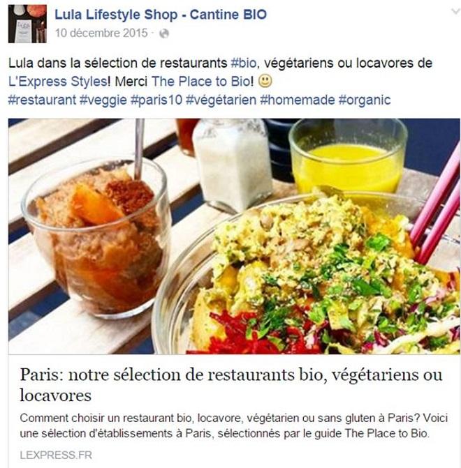 Restaurant végétarien paris