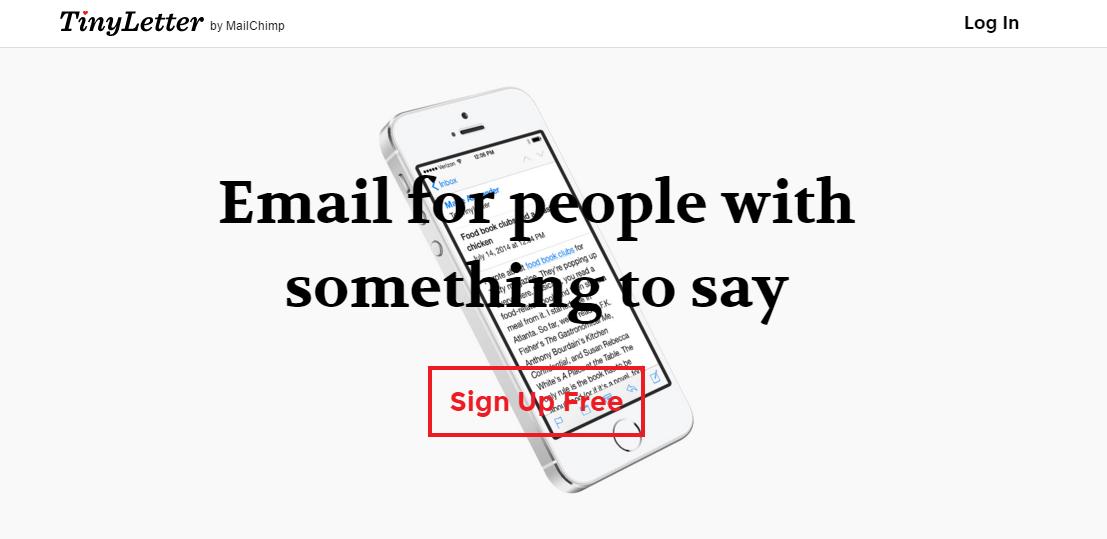 TinyLetter-newsletter-minimaliste-solution-gratuite-restaurant-restoconnection