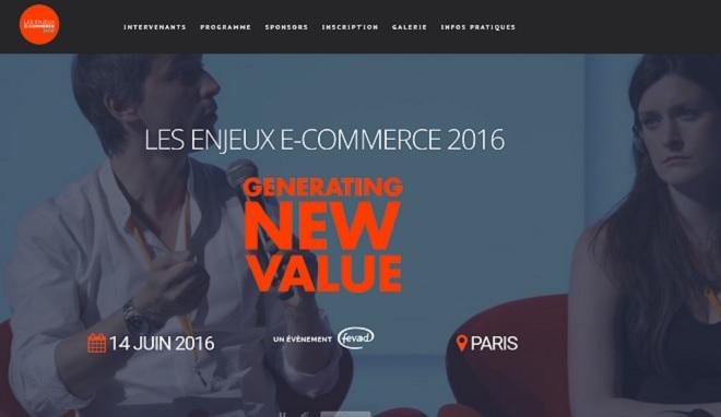 Enjeux E-commerce : 14 juin 2016