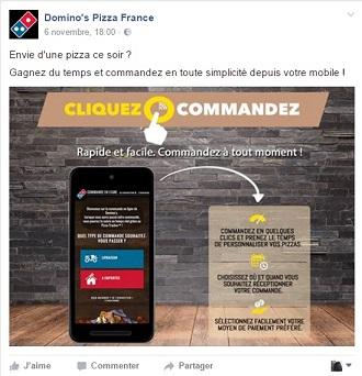 service commande en ligne restaurant