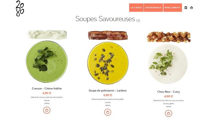 site commande en ligne restaurant