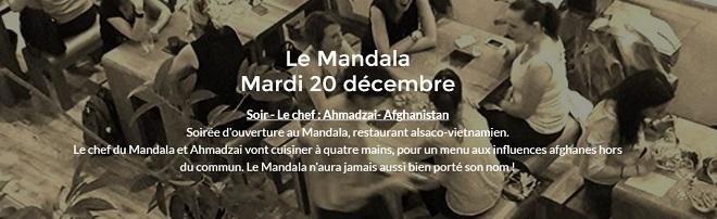 le mandala restaurant