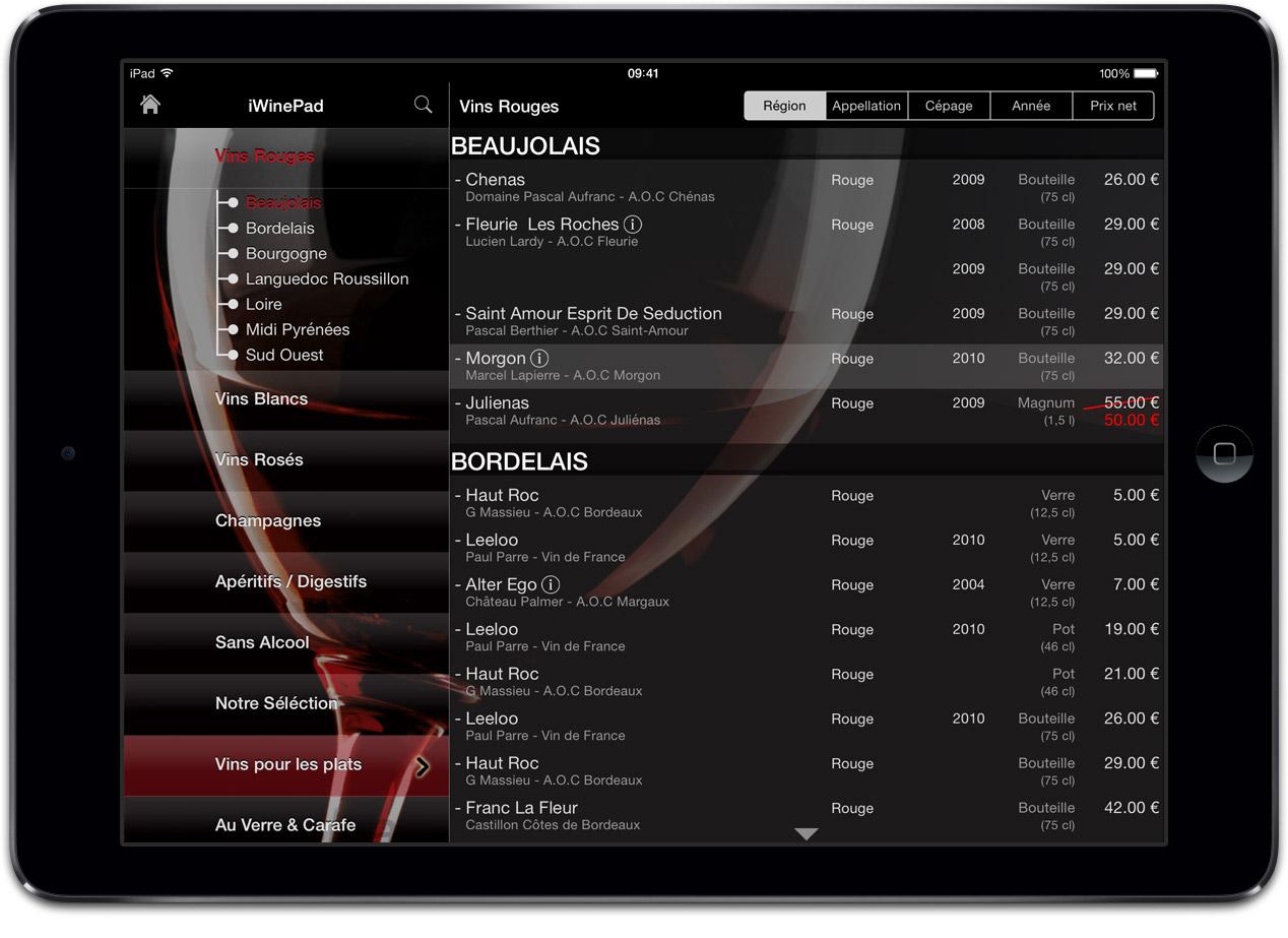 tablette-menu-vins-restaurant-ipad-iwinepad