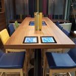 Le restaurant l'Agora utilise des tables tactiles depuis un an !