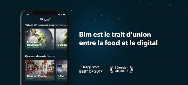 bim réservation en ligne de restaurant