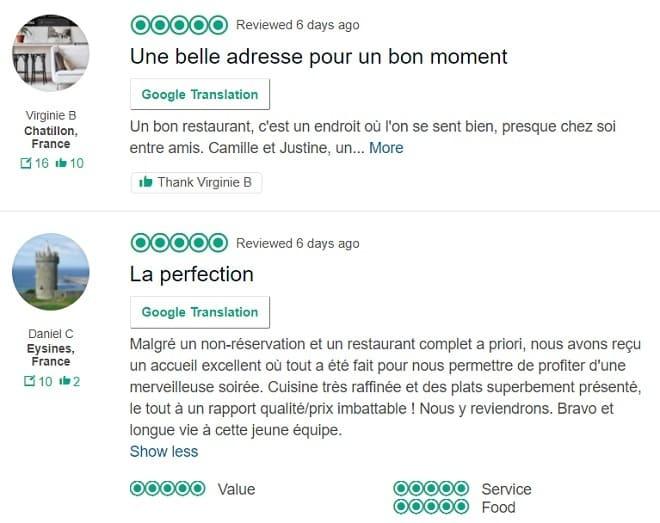 classement restaurant tripadvisor le cappiello