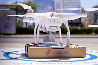 livraison de pizzas drone