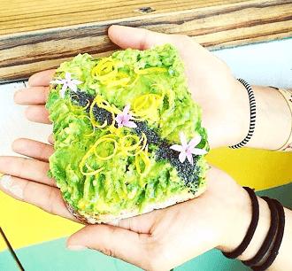 tendance culinaire avocado toast