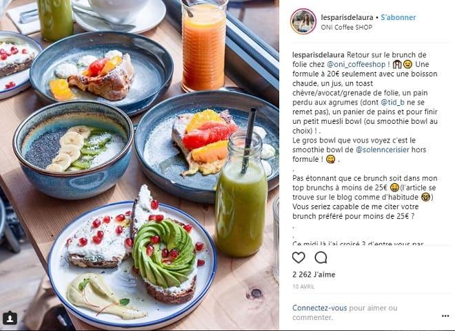 blogeuse food
