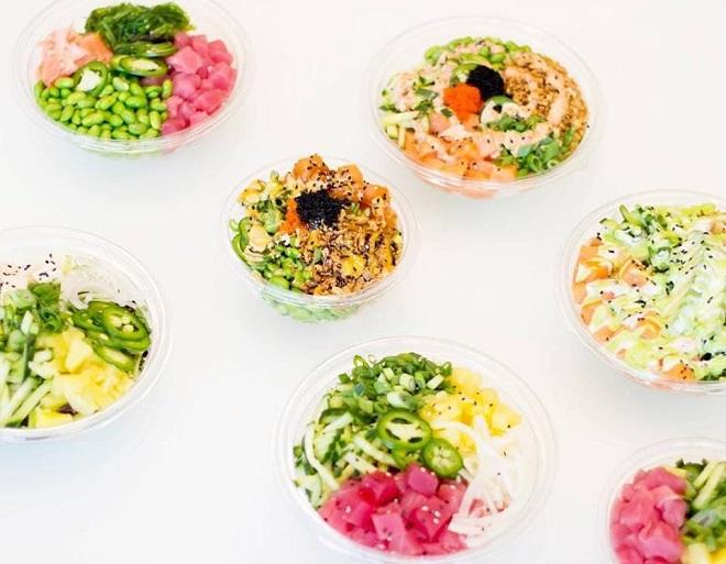 poké-bowls