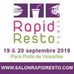 Rapid Resto : 19 – 20 septembre 2018