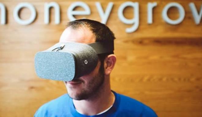Masque réalité virtuelle honeygrow