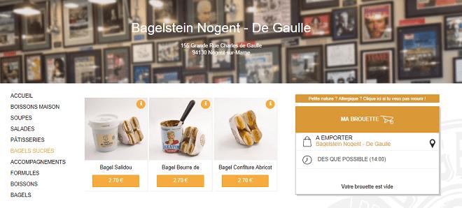 site de commande en ligne restaurant