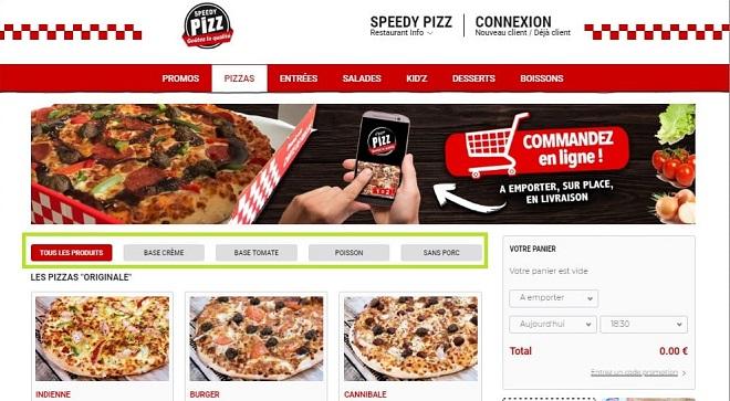 Bonne solution de commande en ligne pour restaurants