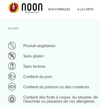 Site de vente en ligne restaurant