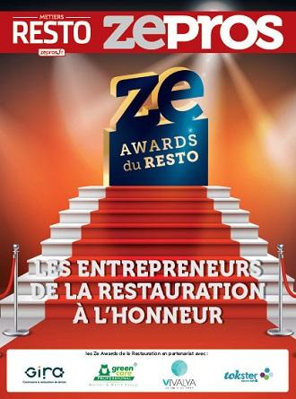 Trophées de la restauration ze awards du resto