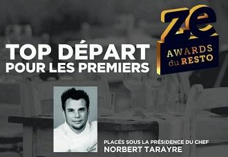 Norbert Tarayre Ze awards du resto