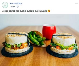 sushi burger sushi soba